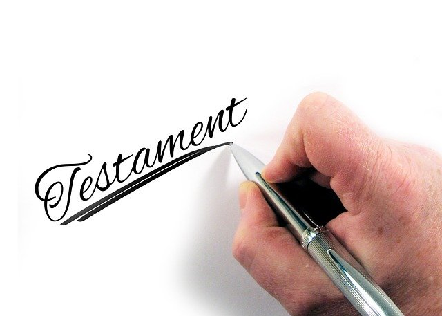 What is testamentary intent in Texas